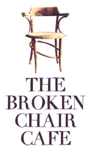 The broken chair Logo