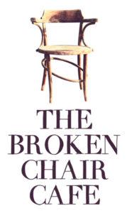 The broken chair Logo