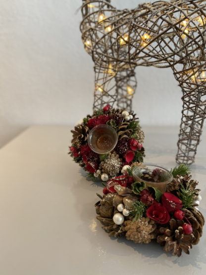 Centrepiece with Candle Holder