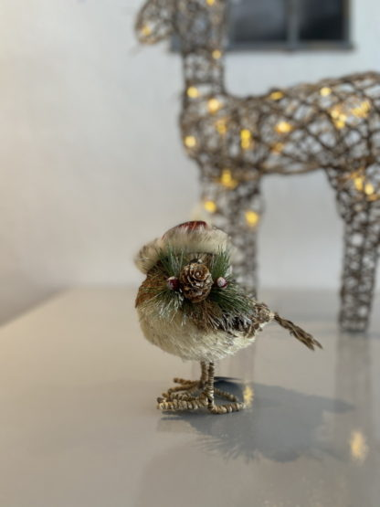 Country Robin Christmas Decoration