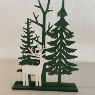 Reindeer Forest Christmas decoration