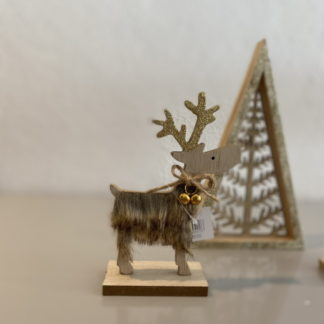 Scandinavian Reindeer christmas decoration