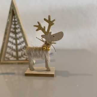 Scandinavian Reindeer christmas ornament